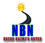 Nazar Bazmi's Notes Poetry, Drama, Novel, Prose